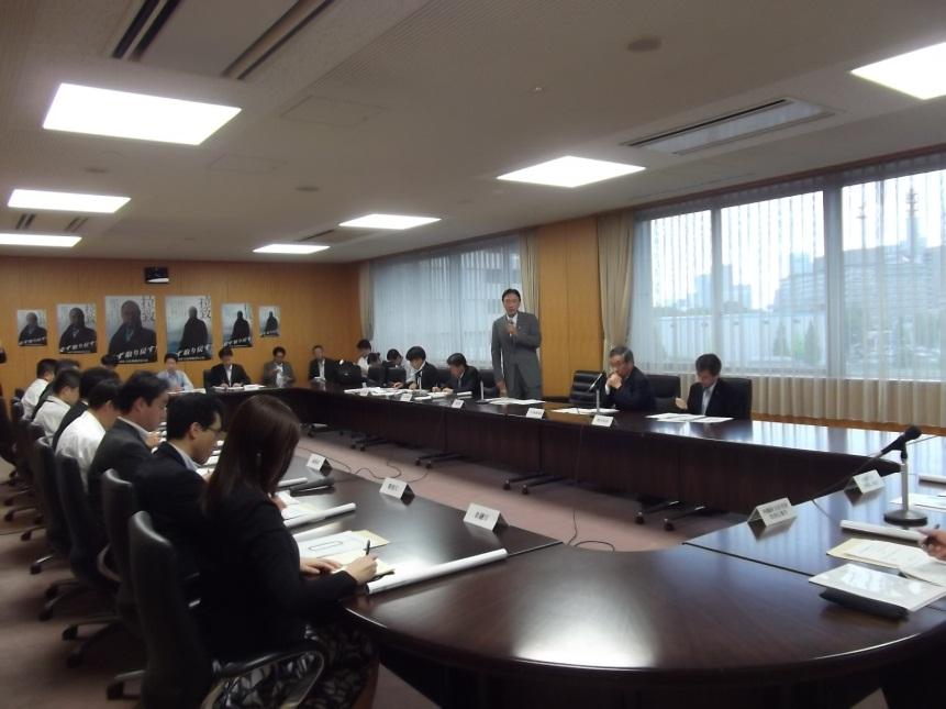 関係省庁拉致問題連絡会(広報)を開催しました。(25.9.6)